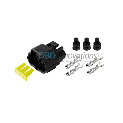 3 Way TE Econoseal J Female Connector | Kit | 174357-2