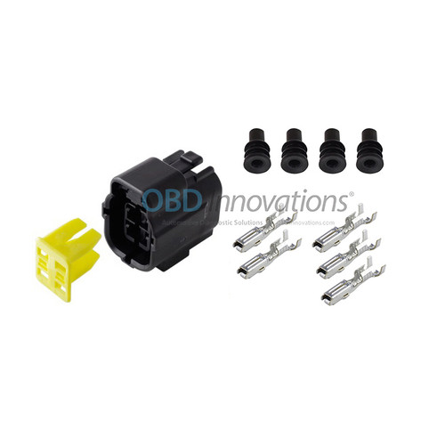 4 Way TE Econoseal J Female Connector | Kit | 174257-2