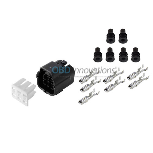 6 Way TE Econoseal J Female Connector | Kit | 368530-1