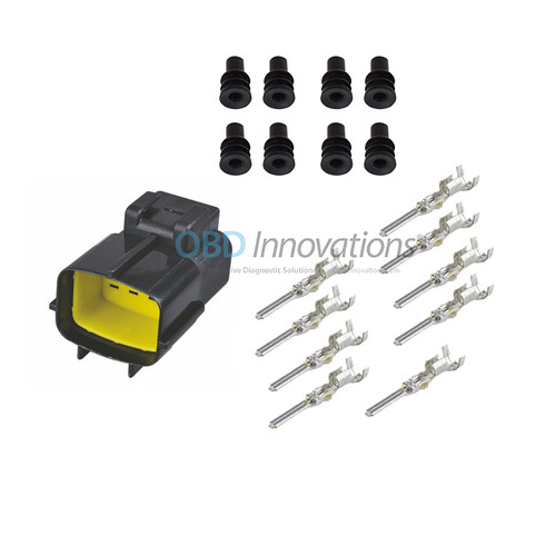 8 Way TE Econoseal J Male Connector | Kit | 174984-2
