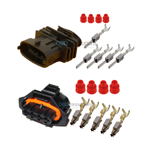 4 Way Bosch Kompakt 1.a Female + Male Connector Set | Kit