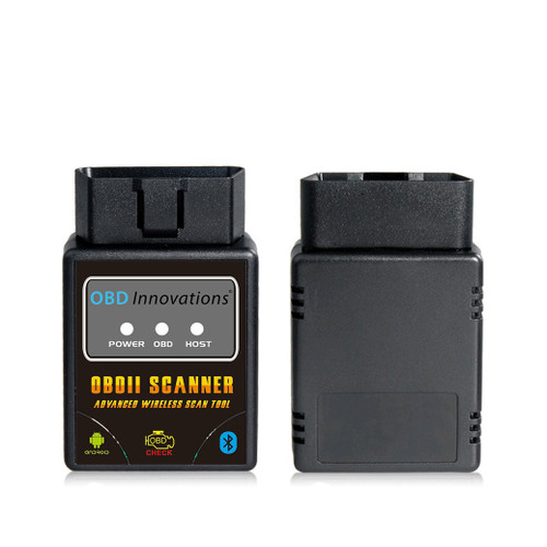 OBD Innovations® Bluetooth OBD2 Scan Tool ST01 - Black