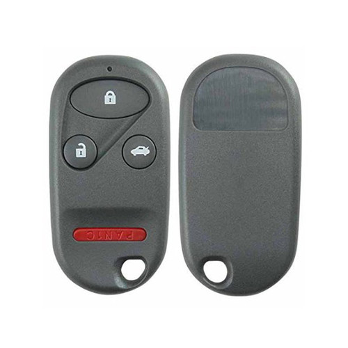 4 Button Remote Key Fob Case Shell for 98-02 Honda Acura Models