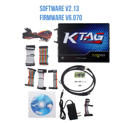 KTAG  ECU Programming Tool Master Version Firmware V6.070