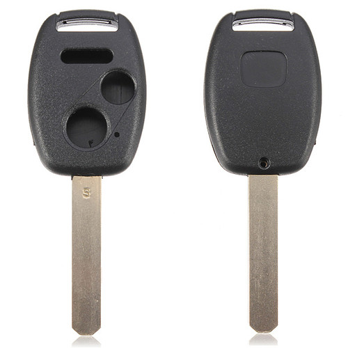 Uncut Key Blade Remote FOB Case Shell - 3 Button - 2003-2013 Honda Accord