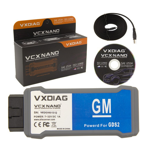 VXDIAG VCX NANO USB Diagnostic Interface for GM vehicles