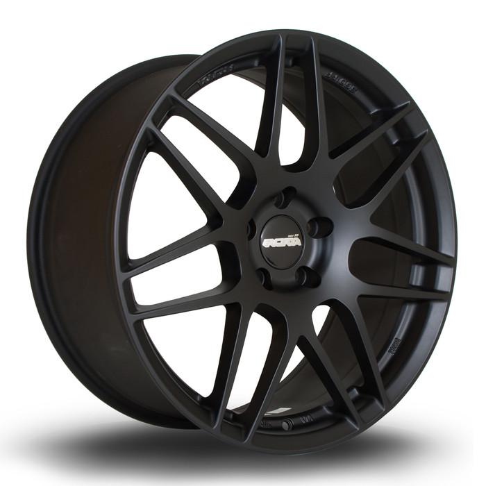 Rota FF01 19x8.5 ET33 5x120 Flat Black www.srbpower.com