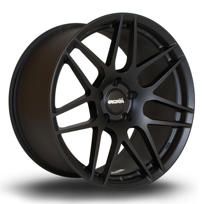 Rota FF02 19x10 ET37 5x120 Flat Black www.srbpower.com