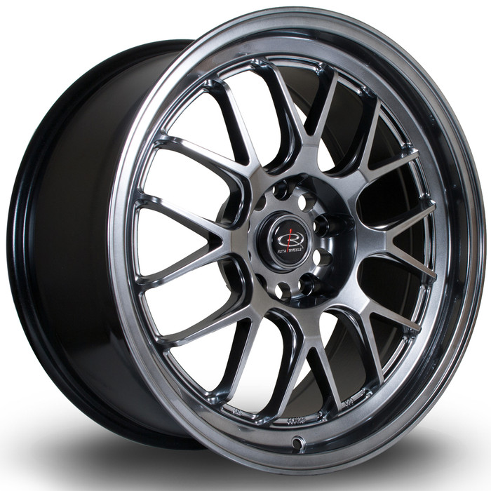 Rota MXR 18x8.5 ET38 5x112/5x100 Hyper Black www.srbpower.com