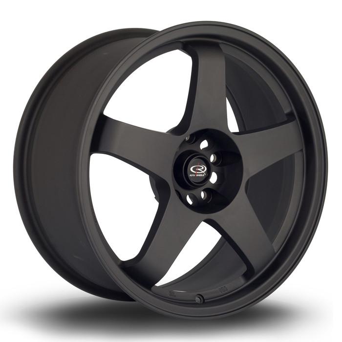 Rota GTR 18x8.5 ET35 5x114.3 Flat Black www.srbpower.com