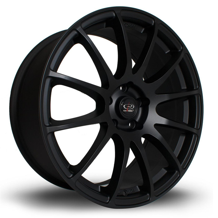 Rota PWR 19x8.5 ET40 5x112 Flat Black www.srbpower.com
