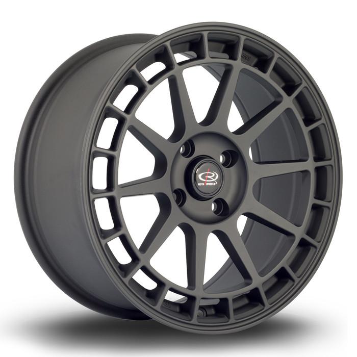 Rota Recce 17x8 ET42 5x100 Flat Black www.srbpower.com