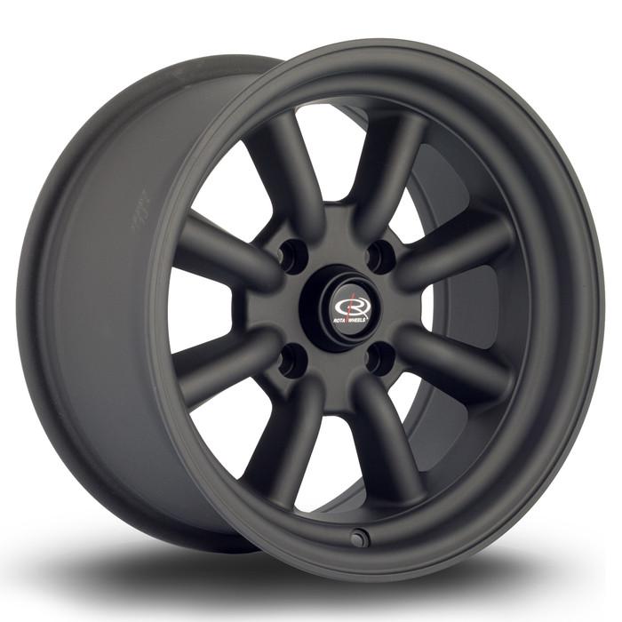 Rota RKR 15x8 ET0 4x114.3 Flat Black www.srbpower.com