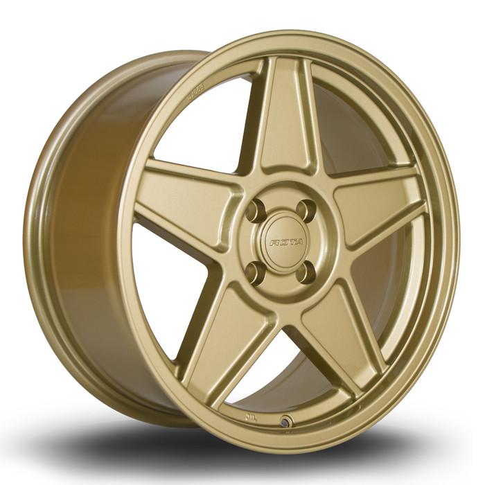 Rota RSS 17x8 ET35 4x100 Gold www.srbpower.com