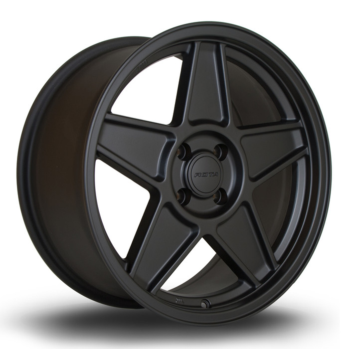 Rota RSS 17x8 ET30 5x100 Flat Black www.srbpower.com