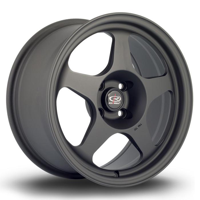 Rota Slip 16x8 ET34 4x100 Flat Black www.srbpower.com