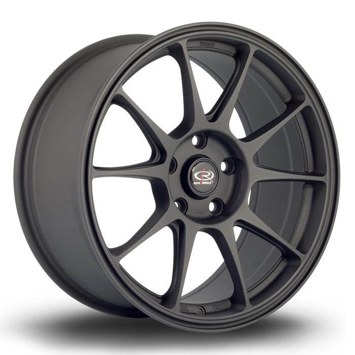 Rota Titan 17x8 ET42 5x100 Flat Black www.srbpower.com
