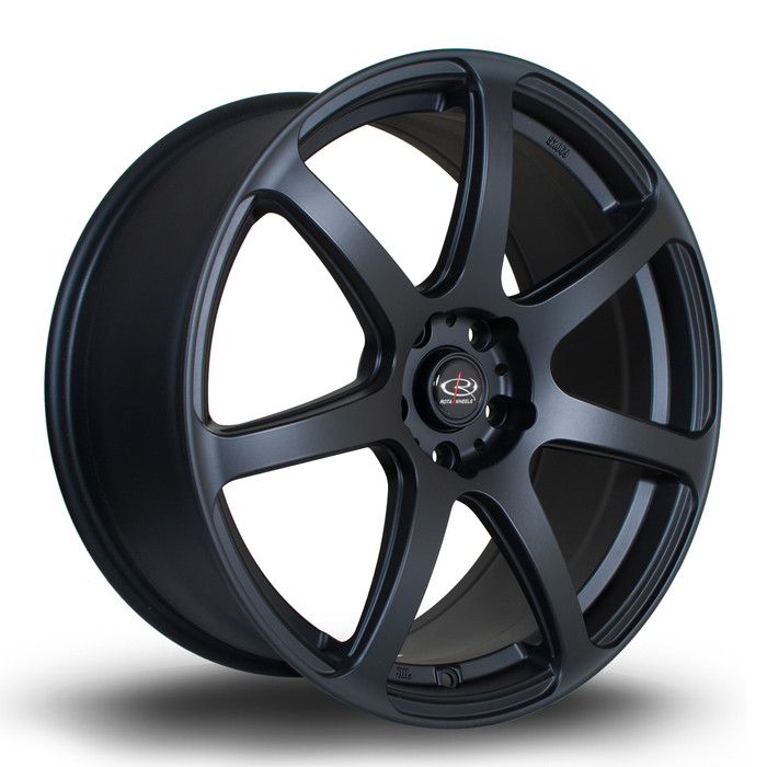 Rota ProR 19x8.5 ET45 5x120 Flat Black www.srbpower.com