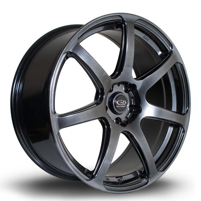 Rota ProR 19x9 ET50 5x120 Hyper Black www.srbpower.com