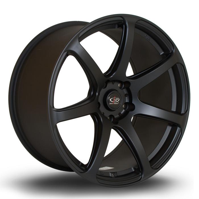Rota ProR 19x10 ET37 5x120 Flat Black www.srbpower.com