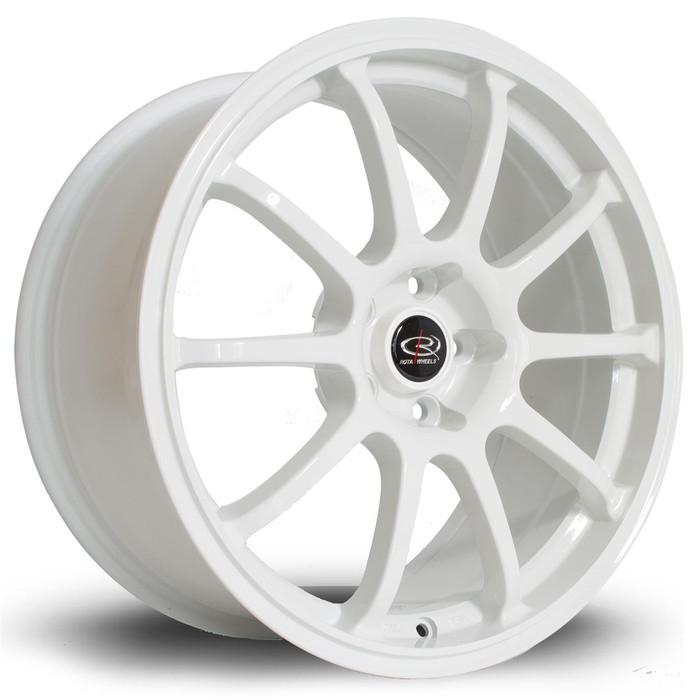 Rota Force 17x7.5 ET45 5x114 White