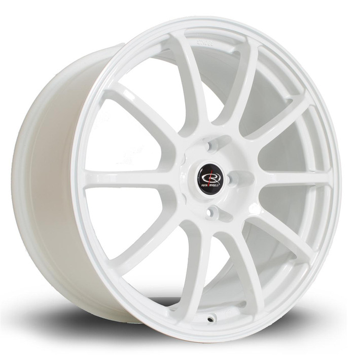Rota Force 18x8.5 ET48 5x114 White