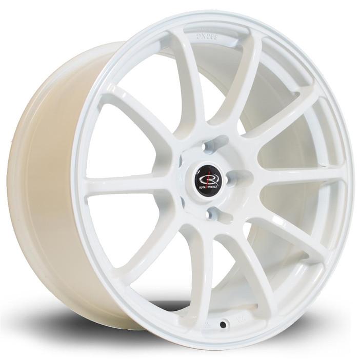 Rota Force 18x9 ET27 5x114 White