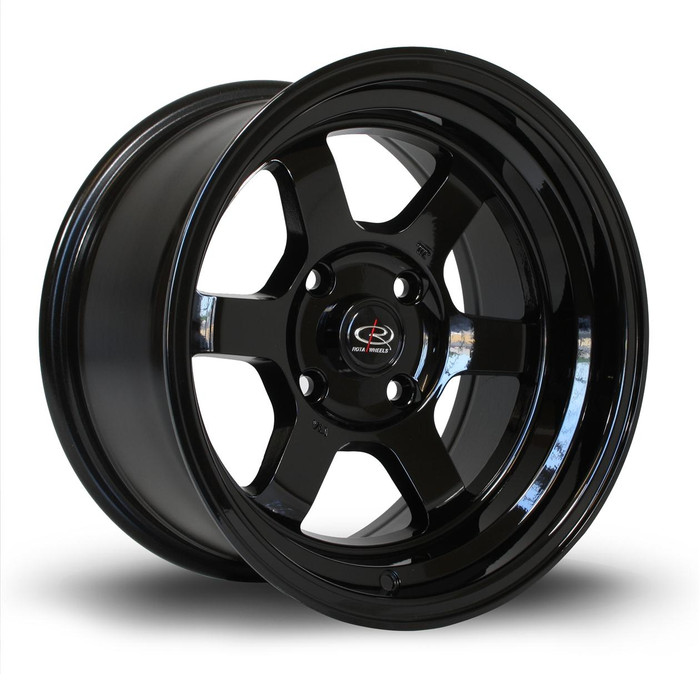 Rota Grid-V 15x8 ET0 4x114 Black