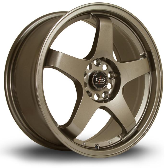 Rota GTR 17x7.5 ET45 5x114 Bronze
