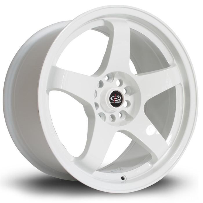 Rota GTR 17x9 ET25 5x114 White