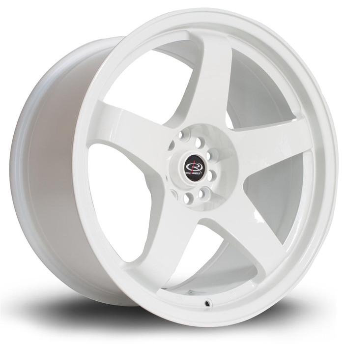 Rota GTR 18x9.5 ET12 5x114 White