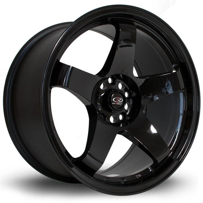 Rota GTR 18x9.5 ET30 5x114 Black