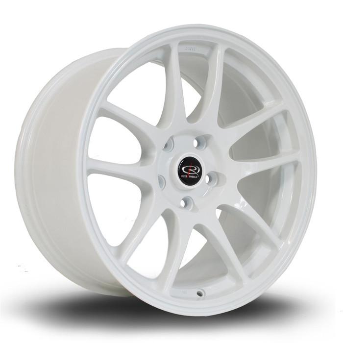 Rota Torque 17x9.5 ET12 5x114 White