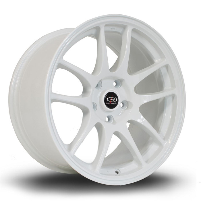 Rota Torque 17x9.5 ET30 5x114 White
