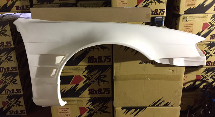 SRB POWER - S14a +45mm Twin Vented Front Fenders (pair)