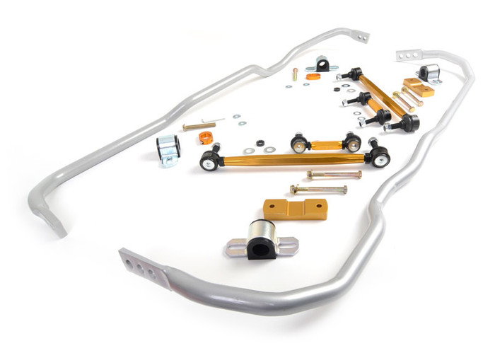 Whiteline BWK004 F and R Sway bar - vehicle kit AUDI A3 MK2 (TYP 8P)   7/2004-2012 4/6CYL-srbpower-com