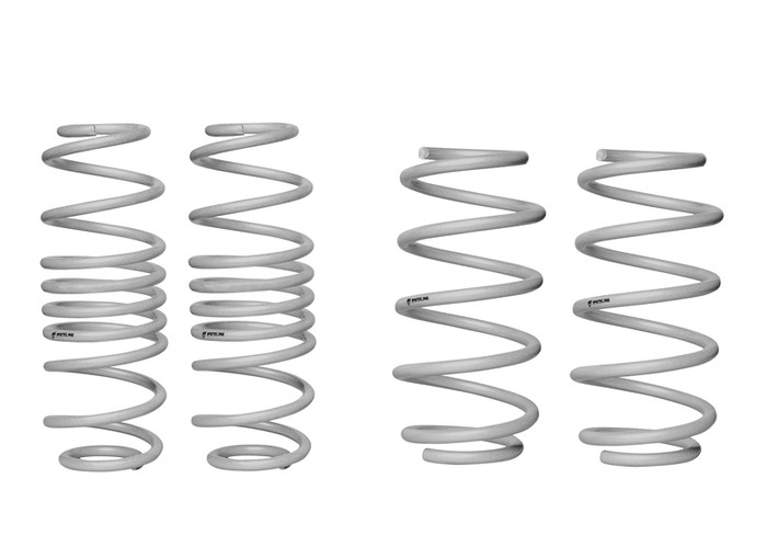 Whiteline WSK-FRD002 F and R Coil Springs - lowered FORD FIESTA WZ EXCL ST  8/2013-ON 4CYL-srbpower-com