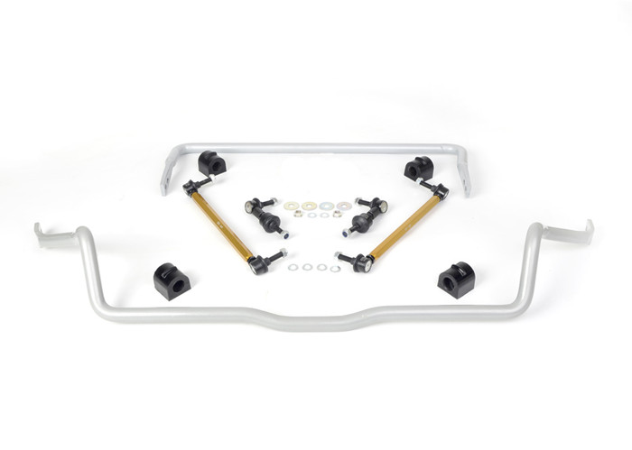 Whiteline BFK003 F and R Sway bar - vehicle kit FORD FOCUS LS, LT, LV EXCL RS, ST AND XR5  5/2005-3/2011 4CYL-srbpower-com
