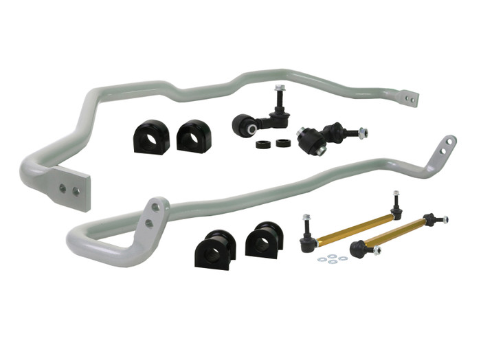 Whiteline BHK017 F and R Sway bar - vehicle kit HONDA CIVIC FC, FK   6/2016-ON 3/4CYL-srbpower-com