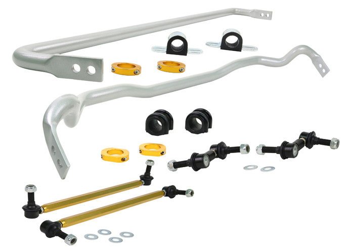 Whiteline BHK016M F and R Sway bar - vehicle kit HYUNDAI GENESIS BH SERIES 1   2/2009-2010 6/8CYL-srbpower-com