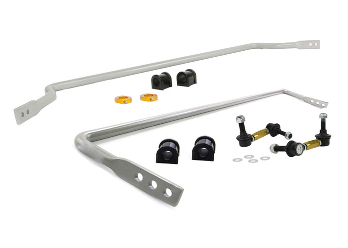 Whiteline BMK014 F and R Sway bar - vehicle kit MAZDA MX5 NB   9/1998-8/2005 4CYL-srbpower-com