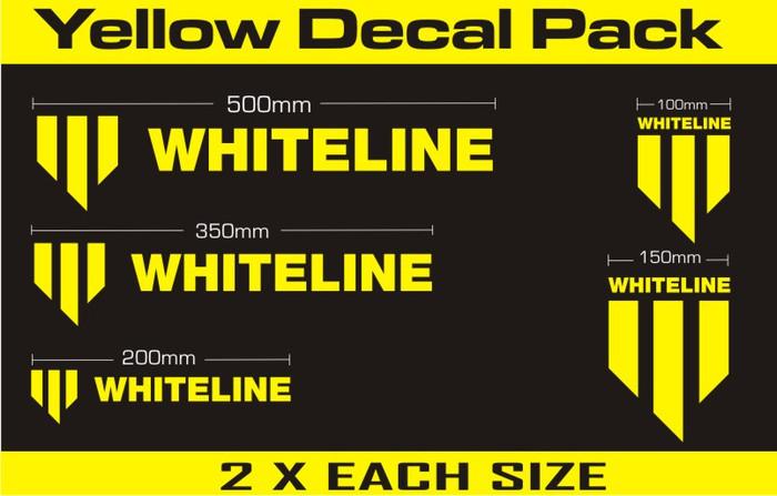 Whiteline KWM001  Whiteline Decal Kits MERCHANDISE DECALS DECALS   ALL ALL-srbpower-com