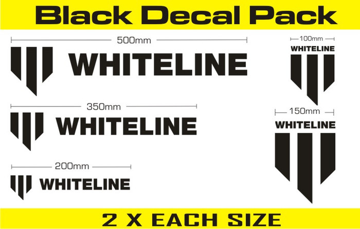 Whiteline KWM002  Whiteline Decal Kits MERCHANDISE DECALS DECALS   ALL ALL-srbpower-com