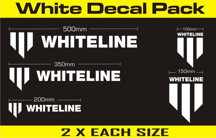 Whiteline KWM004  Whiteline Decal Kits MERCHANDISE DECALS DECALS   ALL ALL-srbpower-com