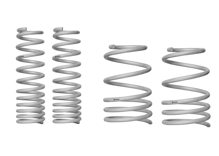 Whiteline WSK-MIT002 F and R Coil Springs - lowered MITSUBISHI LANCER EVOLUTION X   10/2007-ON 4CYL-srbpower-com