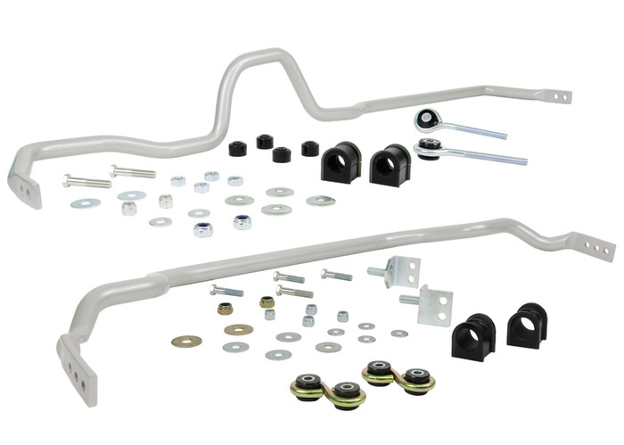 Whiteline BNK004M F and R Sway bar - vehicle kit NISSAN 180SX S13   1984-1996 4CYL-srbpower-com