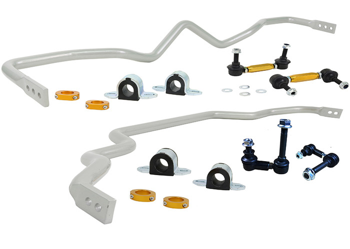 Whiteline BNK014 F and R Sway bar - vehicle kit NISSAN FAIRLADY Z34   2008-ON 6CYL-srbpower-com