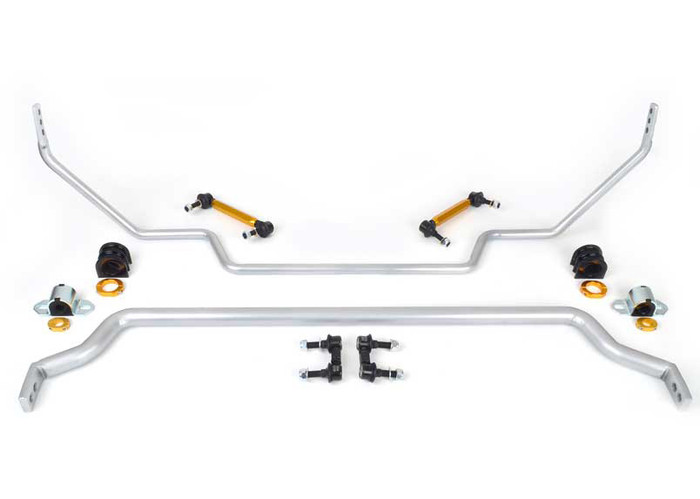 Whiteline BNK008 F and R Sway bar - vehicle kit NISSAN GT-R R35   2007-ON 6CYL-srbpower-com
