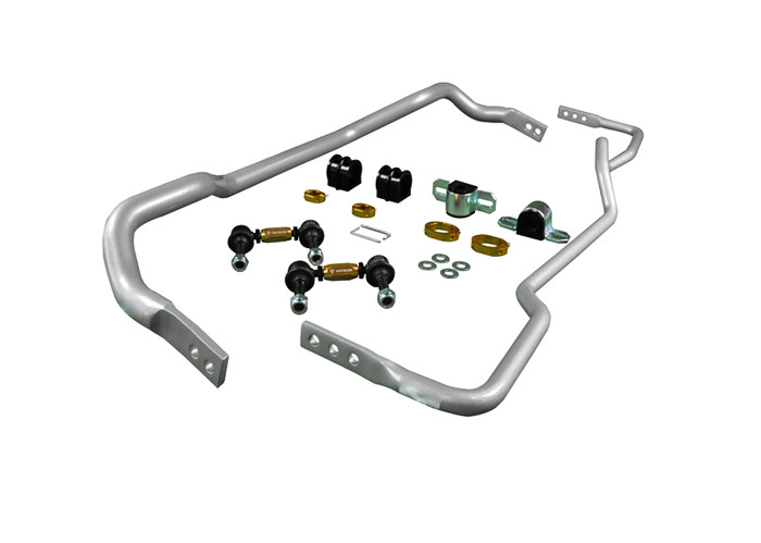 Whiteline BNK006 F and R Sway bar - vehicle kit NISSAN STAGEA M35  RWD 10/2001-6/2007 6CYL-srbpower-com