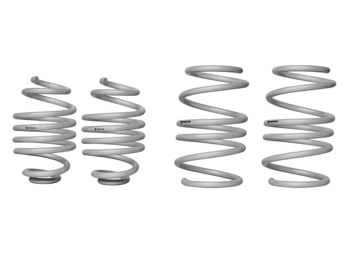 Whiteline WSK-REN002 F and R Coil Springs - lowered RENAULT CLIO III X85 INCL SPORT  2005-8/2013 4CYL-srbpower-com